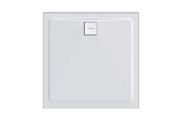 Luna 900/1000 Rear Waste Shower Base - PLUMBCORP BATHROOM & KITCHEN CENTRE