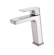 Vitra Basin Mixer Brushed Nickel - PLUMBCORP BATHROOM & KITCHEN CENTRE