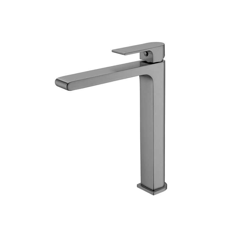 Vitra Tall Basin Mixer Gun Metal Grey - PLUMBCORP BATHROOM & KITCHEN CENTRE