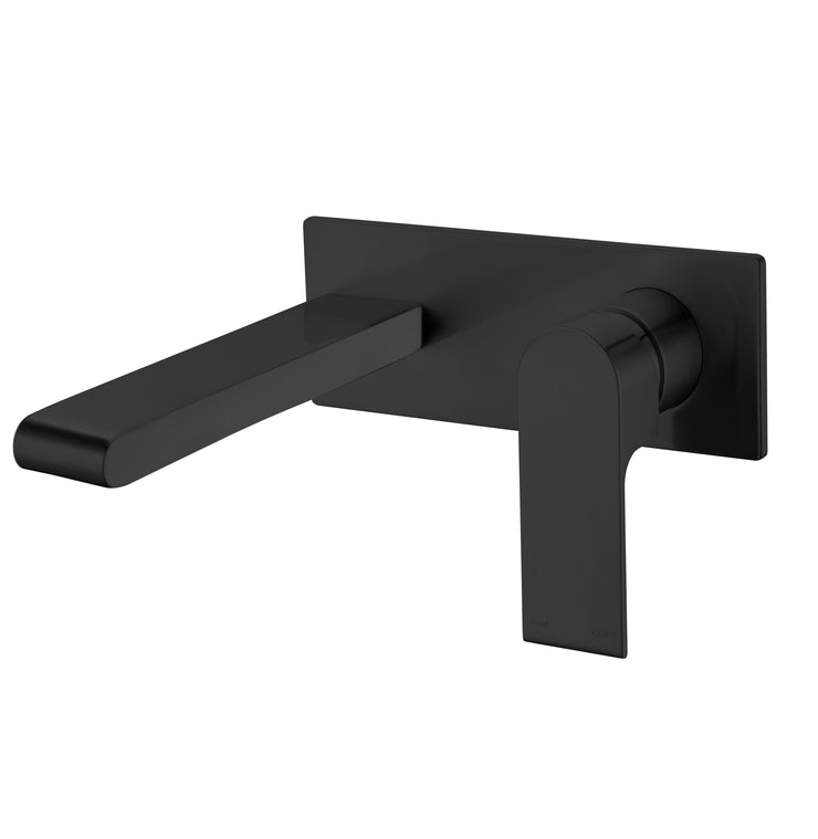 Vitra Wall Basin Mixer Black - PLUMBCORP BATHROOM & KITCHEN CENTRE