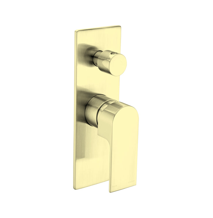 Vitra Shower Mixer With Diverter Gold - PLUMBCORP BATHROOM & KITCHEN CENTRE