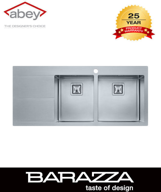 ABEY BARAZZA - Mood One- & Three-Quarter Bowl with Drainer.  - Kitchen Sinks Sales