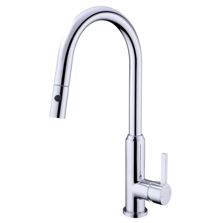 Pull Out Sink Mixer With Vegie Spray Function Chrome - PLUMBCORP BATHROOM & KITCHEN CENTRE