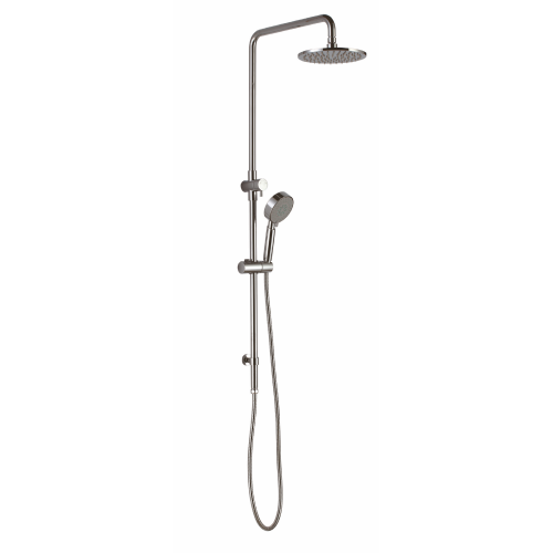 Round Twin Shower set With Sliding Shower - PLUMBCORP BATHROOM & KITCHEN CENTRE