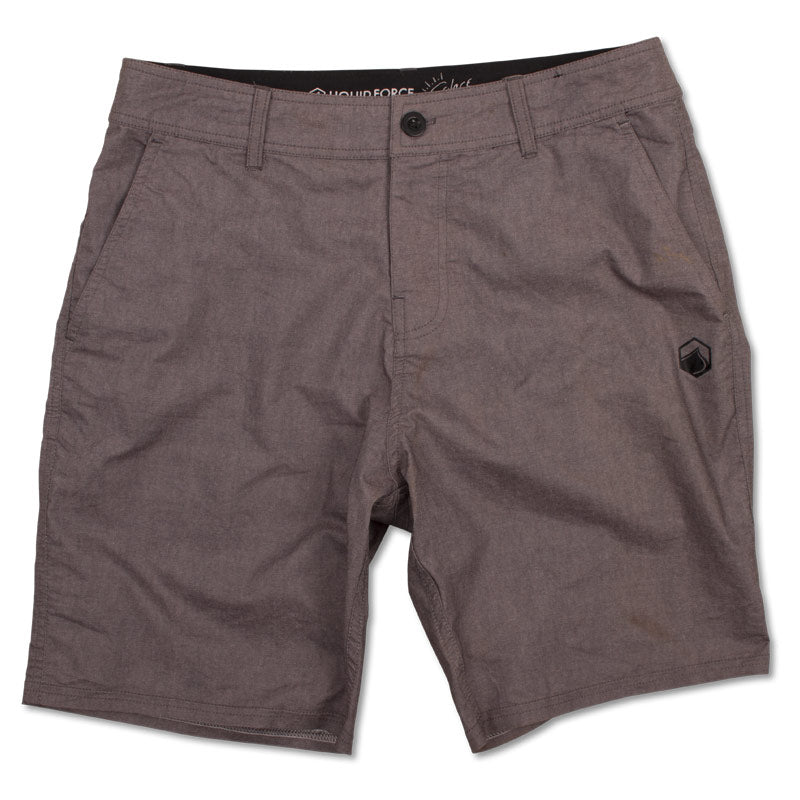 Solace Hybrid Boardshort - Black