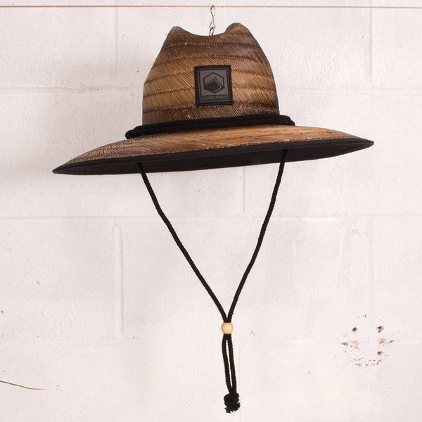 Avalon Straw Lifeguard Hat