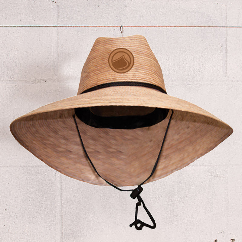 Tradition Straw Lifeguard Hat