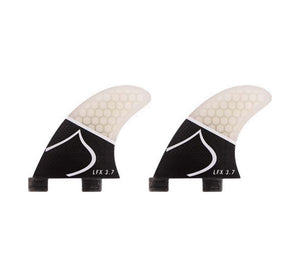 LFX 3.7 Carbon Honeycomb Side Fin Set Small