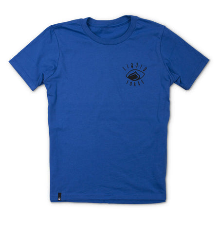 Focus Youth Tee - Royal
