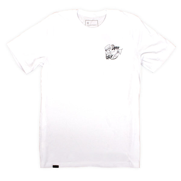 2021 Death Grip White Tee
