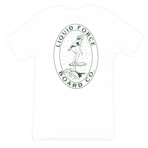 2021 Foil Board Co. Vintage Tee White