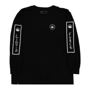 Identity Long Sleeve Tee - Black