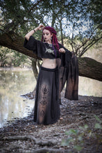 Load image into Gallery viewer, Triple Moon Long Sleeve Shrug Jacket Shawl Top - Wings of Sin