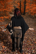 Load image into Gallery viewer, Eclipse of Moths Panel Skirt - Wings of Sin