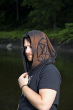 Load image into Gallery viewer, Pentacle Post Apocalyptic Cowl Hood Choose Your Own Design - Wings of Sin