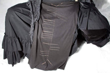Load image into Gallery viewer, Tlachtga Druid Ogham Panel Skirt Loin Cloth Wrap - Wings of Sin