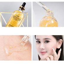 Carregar imagem no visualizador da galeria, 24K Gold Essence Oil Control Face Moisturizer Whitening Base Make Up Primer Pore Minimizer Skin Serum
