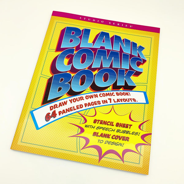 Book - Blank Comic Pages (Create Your Own)