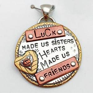 """Sister"" Pendant Collection - Circles"