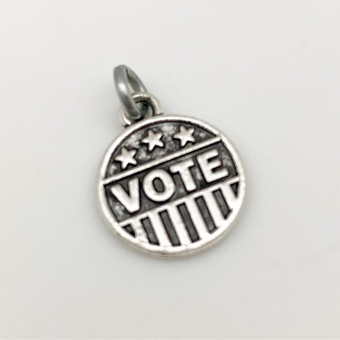 Charm - Vote - Metal 2-Sided