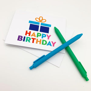 "Greeting Card - ""Happy Birthday"" Present"