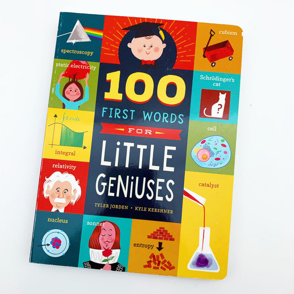 Book - 100 First Words for Little Geniuses