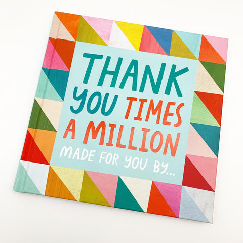 Book - Thank You Times A Million