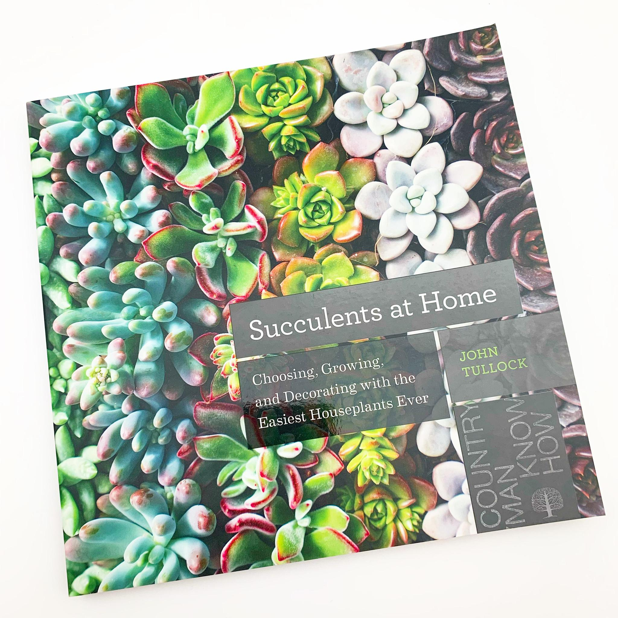 Book - Succulents at Home