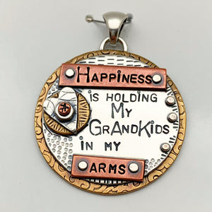 """Grandkids"" Pendant Collection - Circles"
