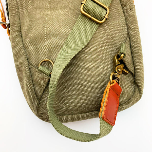 Bag - Sling with Stitched Pattern