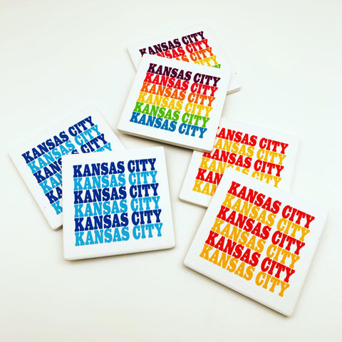 Coaster - Kansas City - Stoneware