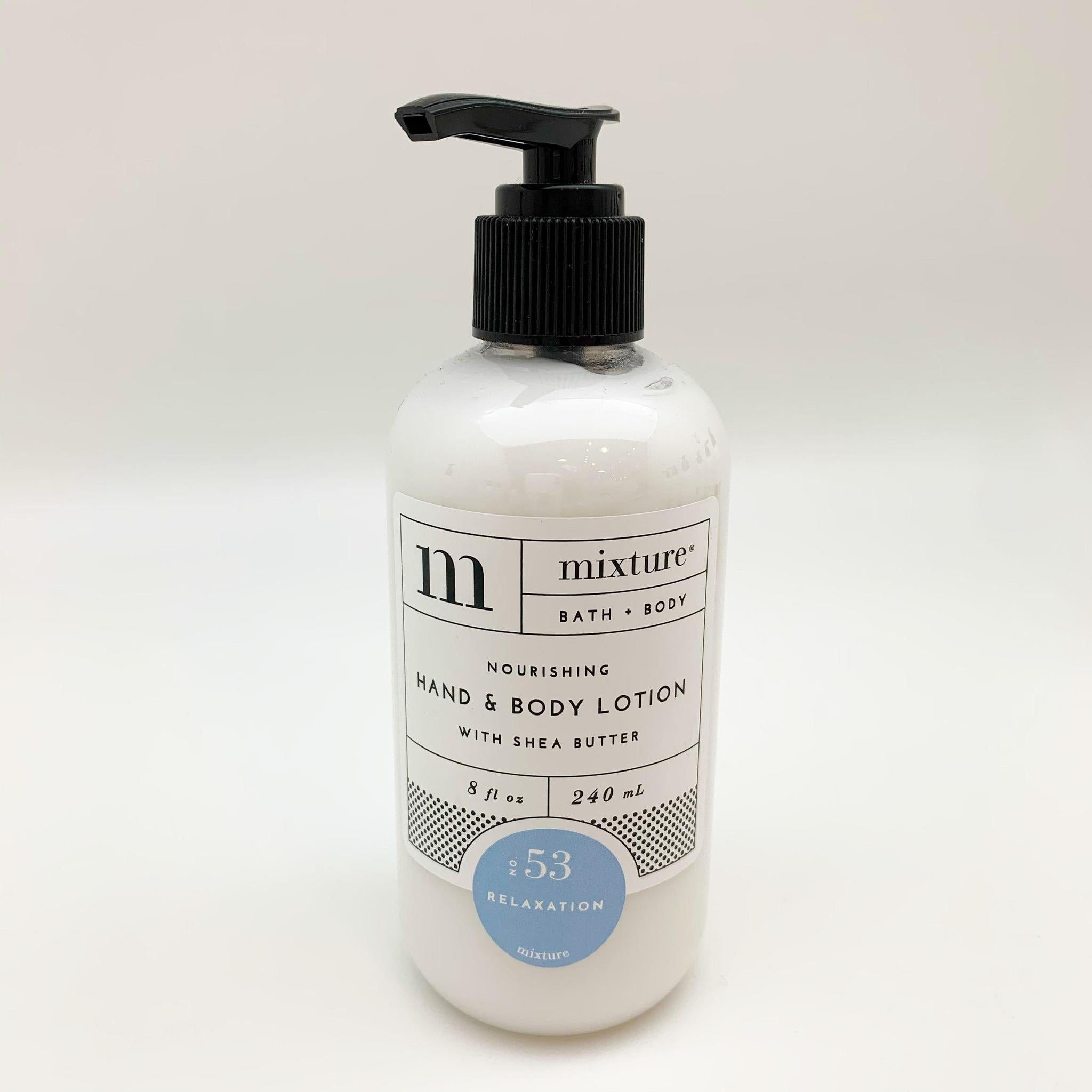 Hand Lotion - Relaxation - 8 oz with Pump