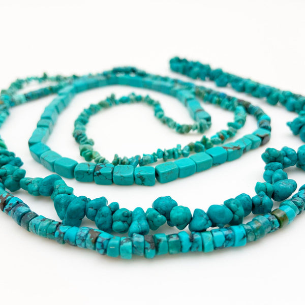 Necklace - Hand-Knotted Turquoise