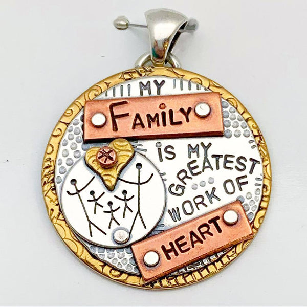"""Family"" Pendant Collection - Circles"