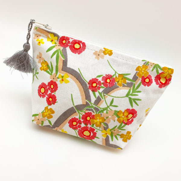 Zippered Pouch - Floral Patterns