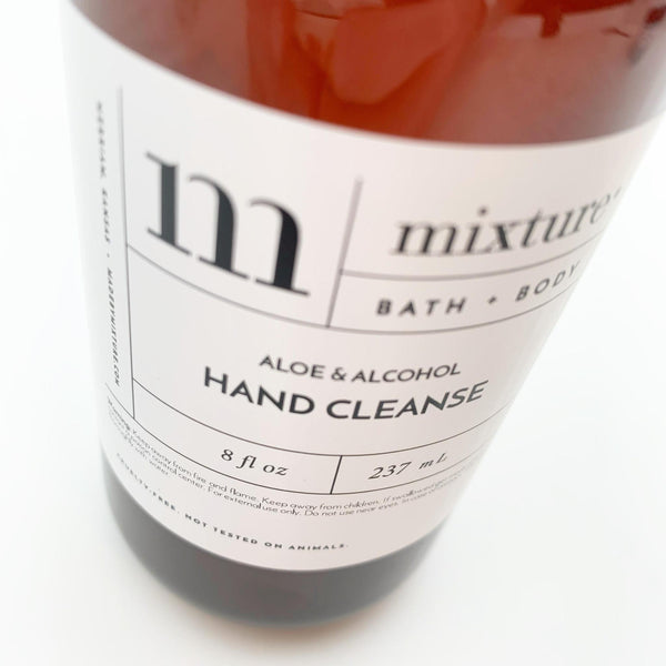 Hand Cleanse: 66% Alcohol 12 oz