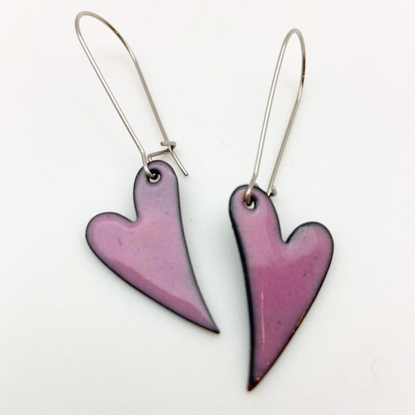Earrings - Enamel Originals - Tiny Hearts