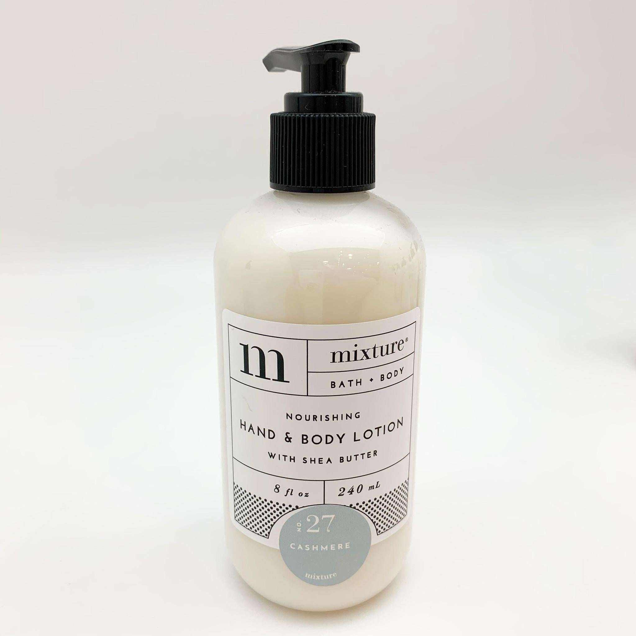 Hand Lotion - Cashmere - 8 oz with Pump