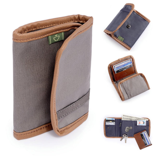 Wallet - Coated Canvas