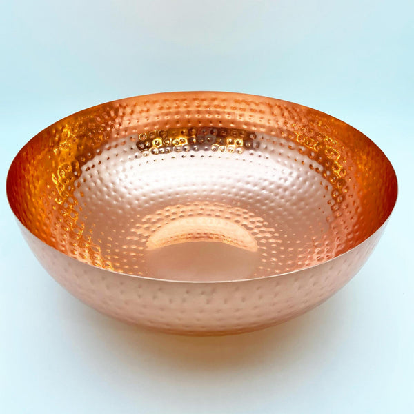Bowl - Hammered Copper