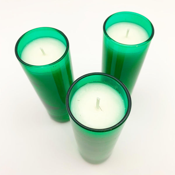 Candle - Siberian Fir in Green Glass - 2 oz