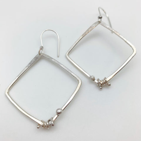 Earrings - Dotted Diamonds - Sterling Originals