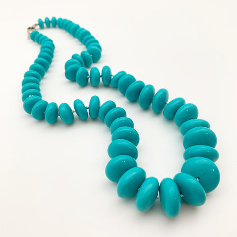 Necklace - Globe Arizona Turquoise by Hoop Dog
