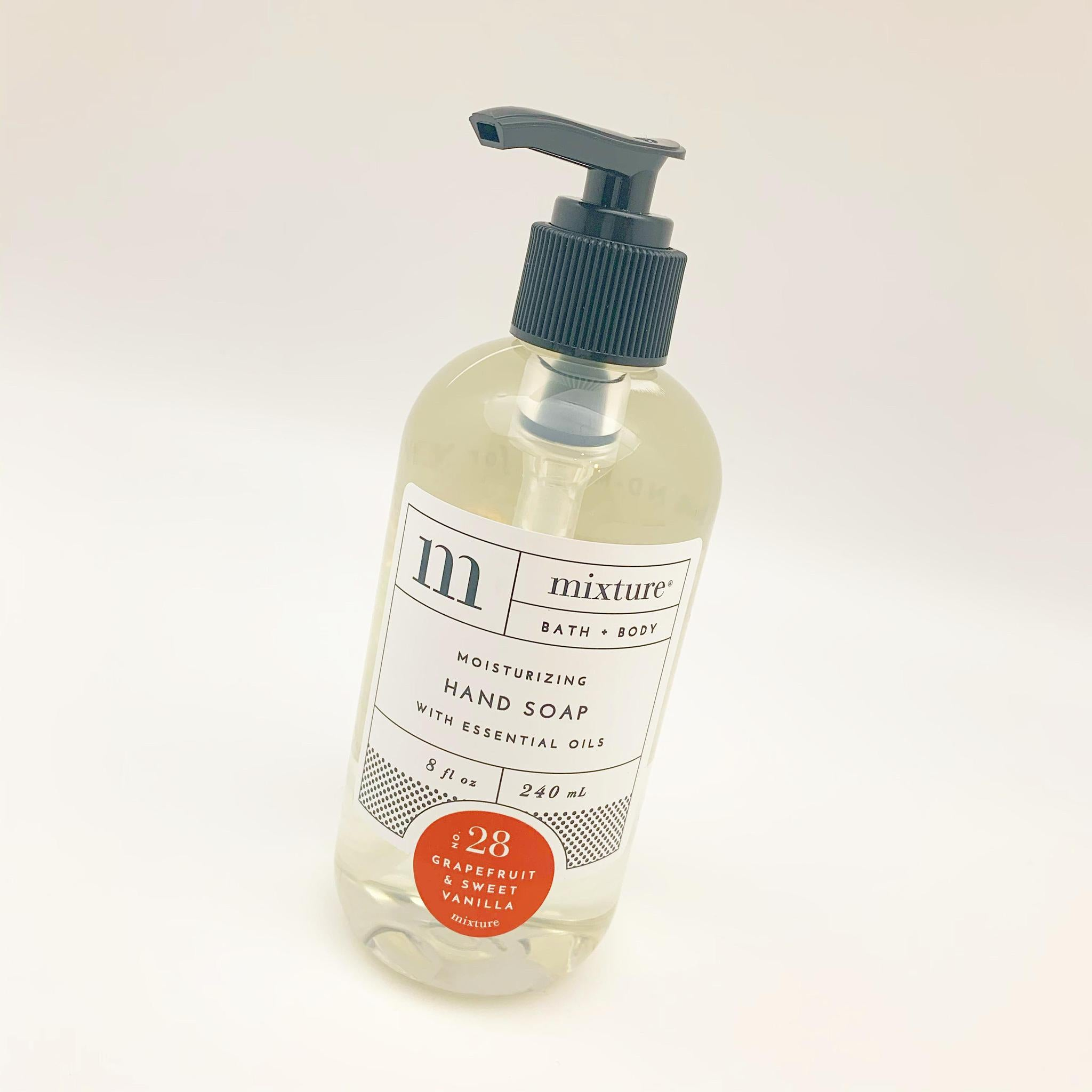 Hand Soap - Grapefruit & Sweet Vanilla - 8oz