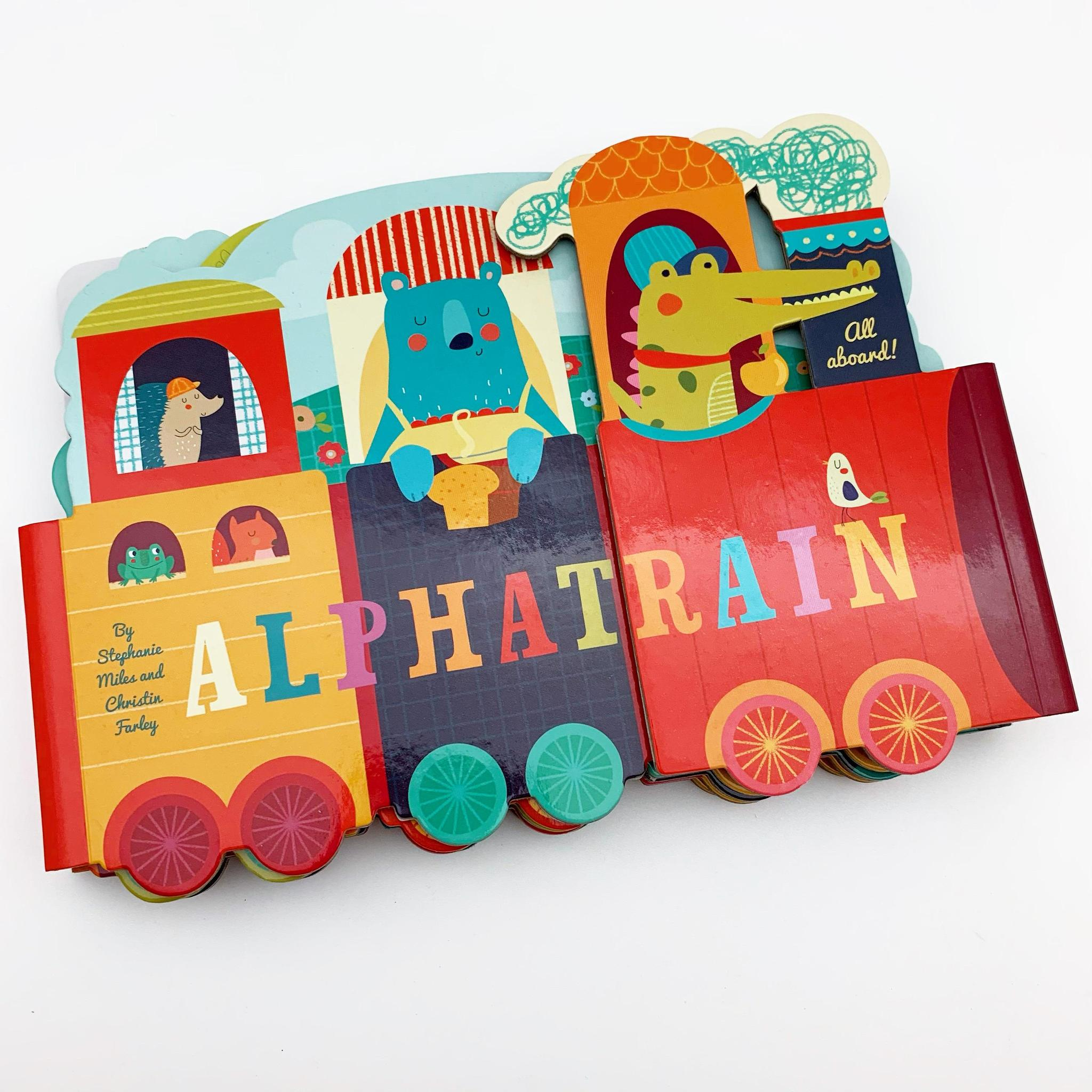 Book - Alpha Train - Board Book