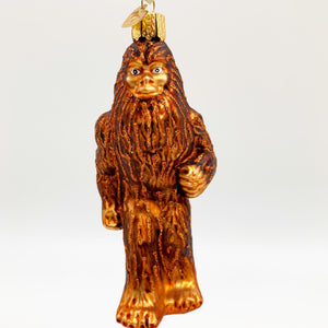 Ornament - Blown Glass - Sasquatch