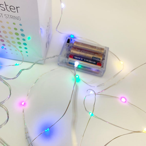LED Fairy Lights - Pastel - 16 feet