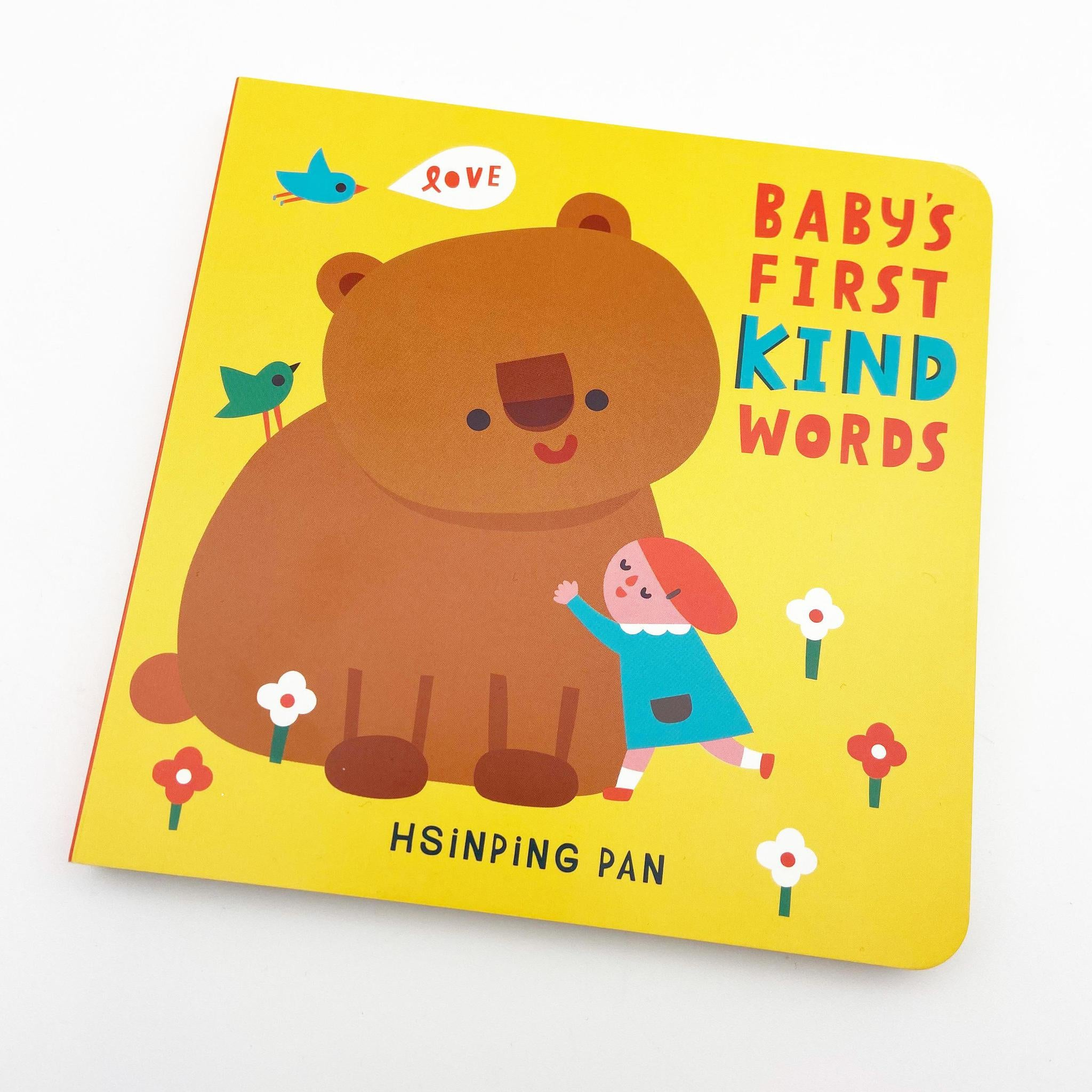 Book - Baby's First Kind Words