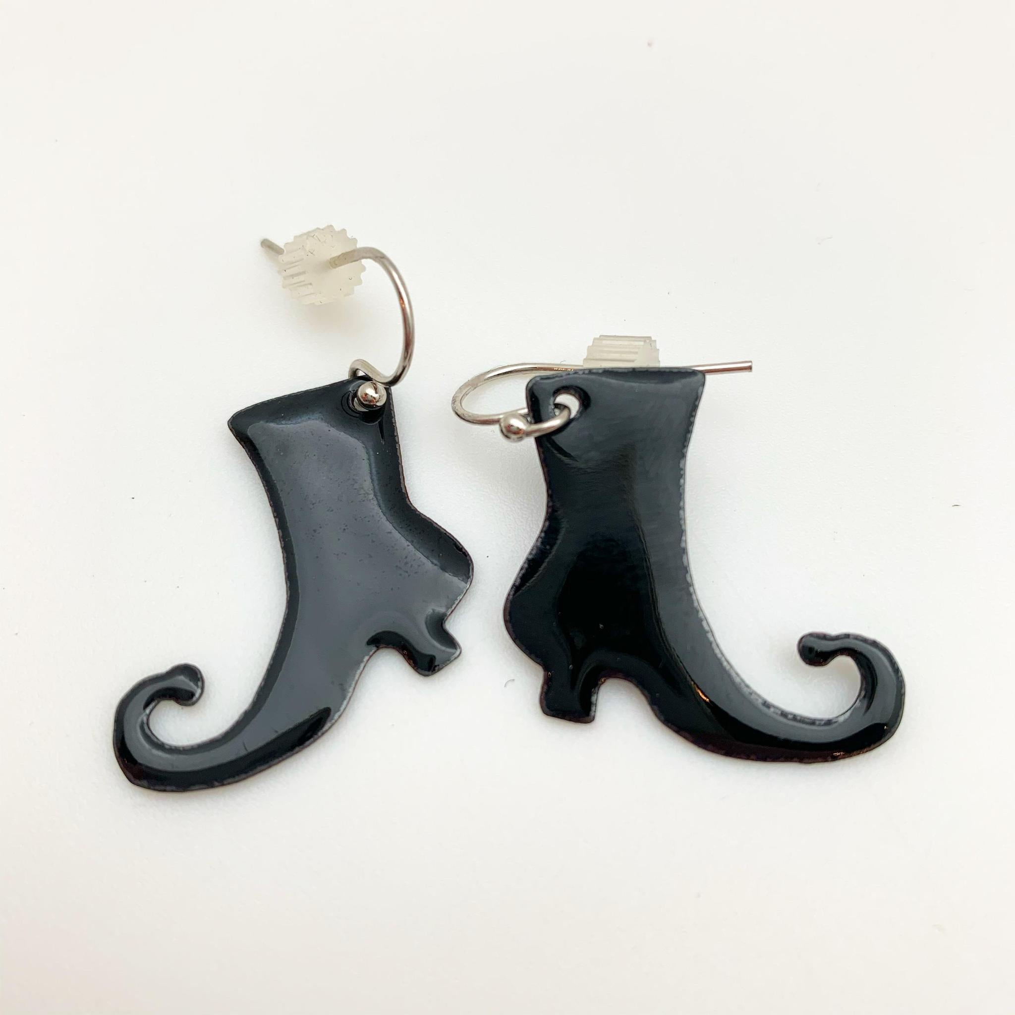 Earrings - Enamel Originals - Witch's Boots