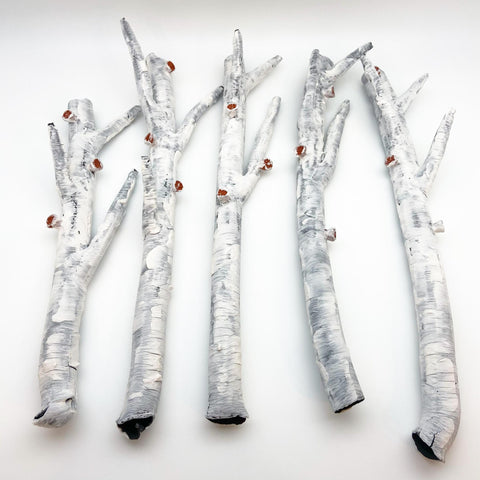 Sculpture - Aspen Branch - Ceramic